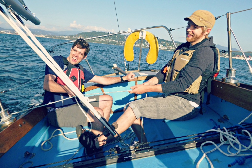 Sailing on Bellingham Bay